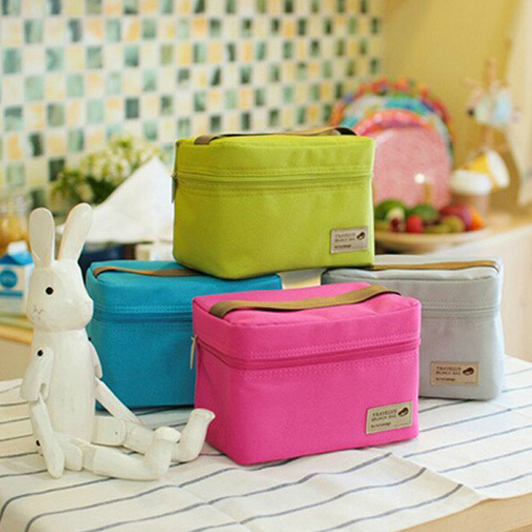 New Arrival Polyesterc Outdoor Practical Small Cooler Bag Lunch Bags Picnic Waterproof Pouch Organizer Bag(China (Mainland))