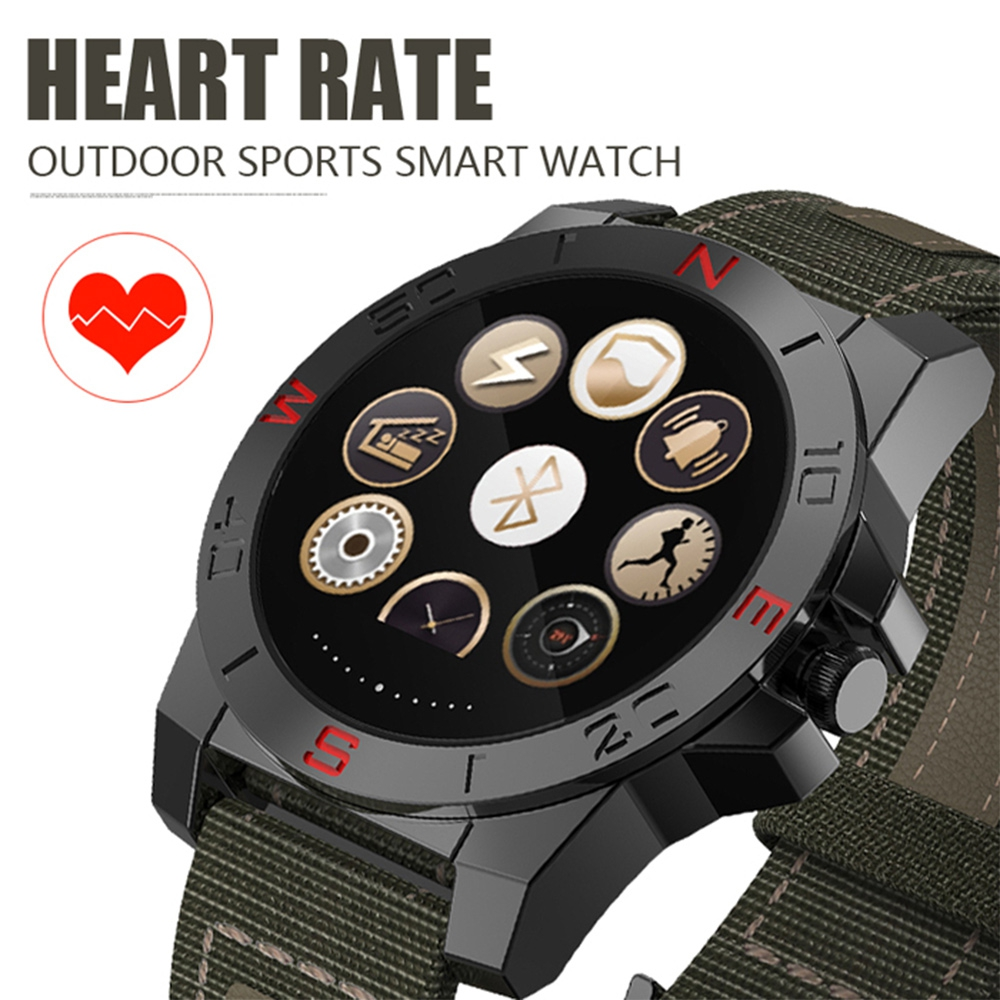 N10B Bluetooth 4.0 Smart Watch Sports watches with Altimeter Barometer Compass Thermometer IP67 Heart Rate Monitor Clock(China (Mainland))