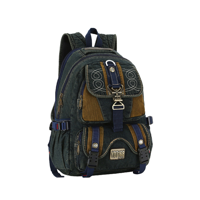 2015 College Wind leather Backpack men's backpacks women backpack travel bags school backpacks#057  -  LF Fashion Boutique Shop store