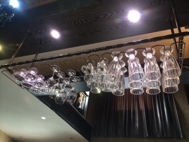 Verre cintre promotion achetez des verre cintre - Porte verre suspendu bar ...