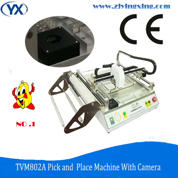 Small Automatic pcb Making Machinery Pick and Place for Led Light Assembly Line with Vision System(China (Mainland))