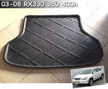 FIT FOR 2003-2008 LEXUS RX RX330 RX350 RX400H BOOT LINER REAR TRUNK CARGO MAT FLOOR TRAY CARPET PROTECTOR 2007 2006 2005 2004(China (Mainland))