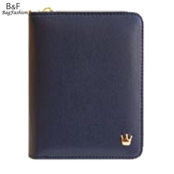 fashion lady wallet  King Tote PU Leather Clutch cute girl wallets Handmade bag credit card holder Purse 5348