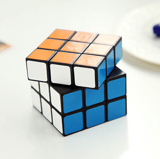 Classic puzzle magic cube intellectual toy 6cm upgrade professional third-order smooth(China (Mainland))