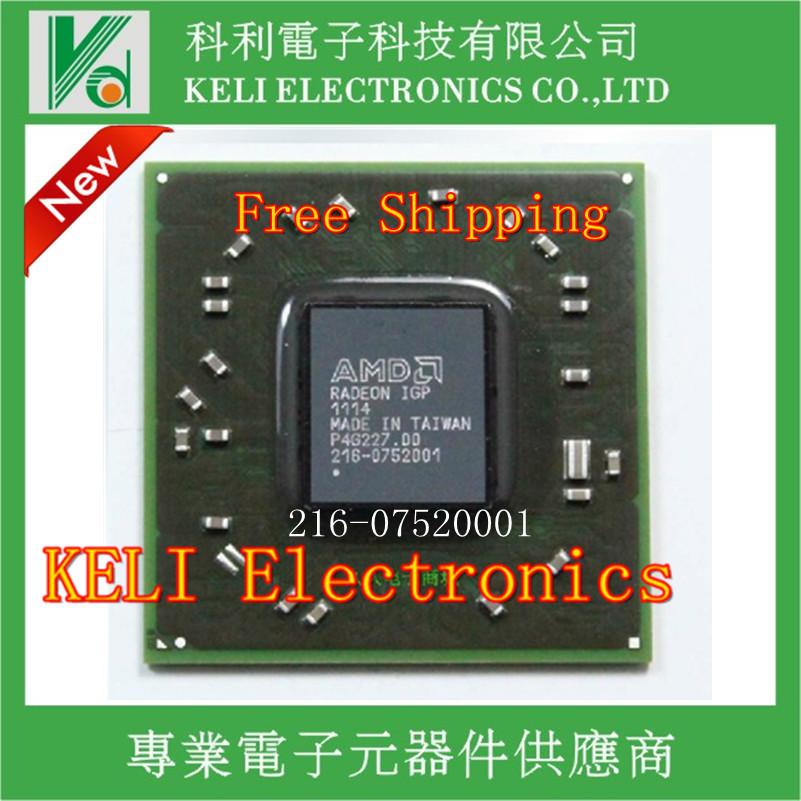 Free Shipping 2PCS/LOT 216-0752001 216 0752001 BGA chipset Test well(China (Mainland))