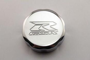 Motorcycle Chrome Brake Fluid Reservoir Cap For Suzuki GSX-R GSXR 600 GSXR 750 GSXR 1000
