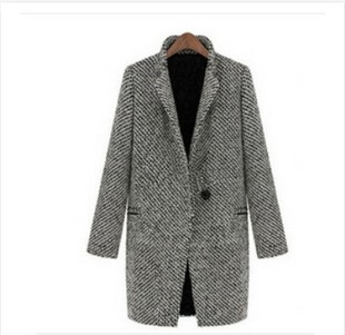 Vogue new fund 2015 autumn/winter women's cultivate one's morality long wool woolen cloth coat promotion - xxschyllwyl store