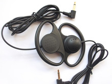 Soft Single-side MONO Hook Earbud Headphone Free Shipping By POst