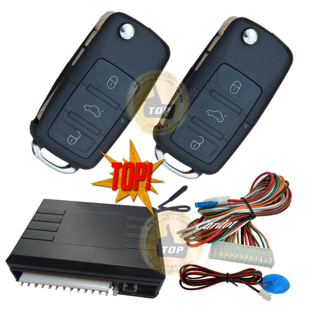 TOP keyless entry is with VW OEM remote shell fire resistance material central lock automatication HAA car blade key CE passed(China (Mainland))