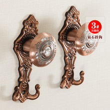 New Arrivals The simulation of crystal diamond  curtain hanging hook(China (Mainland))