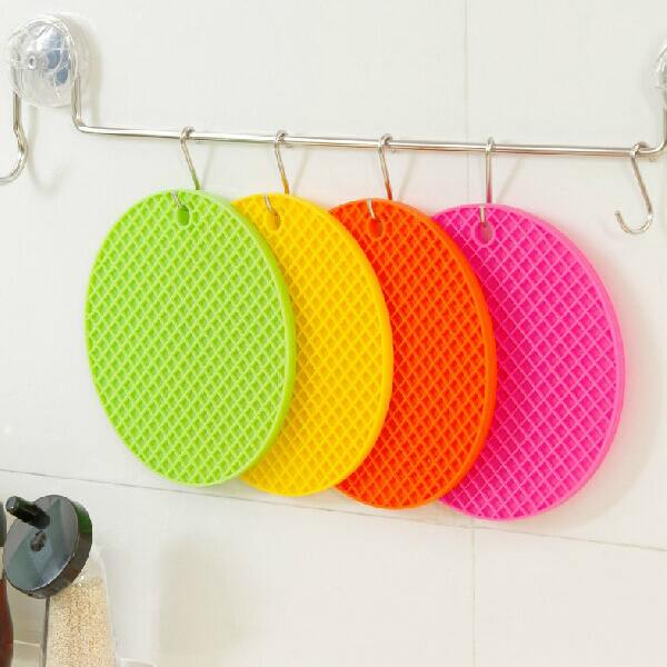 1PC Cup Mug Table Trivet Holder Pad Mat Silicone Placemat Coaster Heat Resistant(China (Mainland))