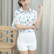 2015 summer fashion female high waist wild stretch legs Korean candy colored shorts sexy skinny cotton
