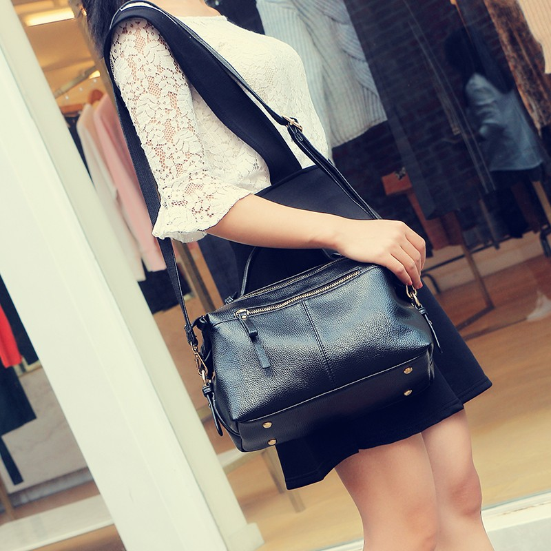 ซื้อ B ILLETERAสตรีกระเป๋าสะพายหนังPUผู้หญิงกระเป๋าMessengerข้ามร่างกายกระเป๋าสิริกระเป๋า
