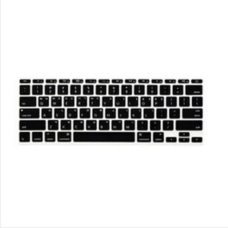 Korean Fonts Letter Soft Silicone US font b Keyboard b font font b Cover b font