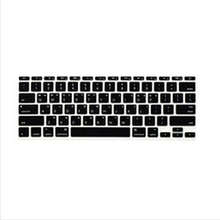 Korean Fonts Letter Soft Silicone US Keyboard Cover Skin Protector Protective FILM 100pcs For Apple MacBook Air 11″ 11.6 Inch