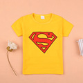 2016 summer new girls clothes baby clothes Superman T shirt summer style Children s tracksuits summer