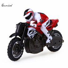 Cool Mini Motorcycle High Speed 2.4GHz Telecontrol Motorcycle Racing Car Toy Safe ABS Material Wonderful Gift for RC Lovers Boys(China (Mainland))