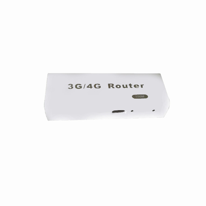 Hot selling Mini 3G 4G WiFi Wlan Hotspot AP Client 150Mbps RJ45 USB Wireless Router Black