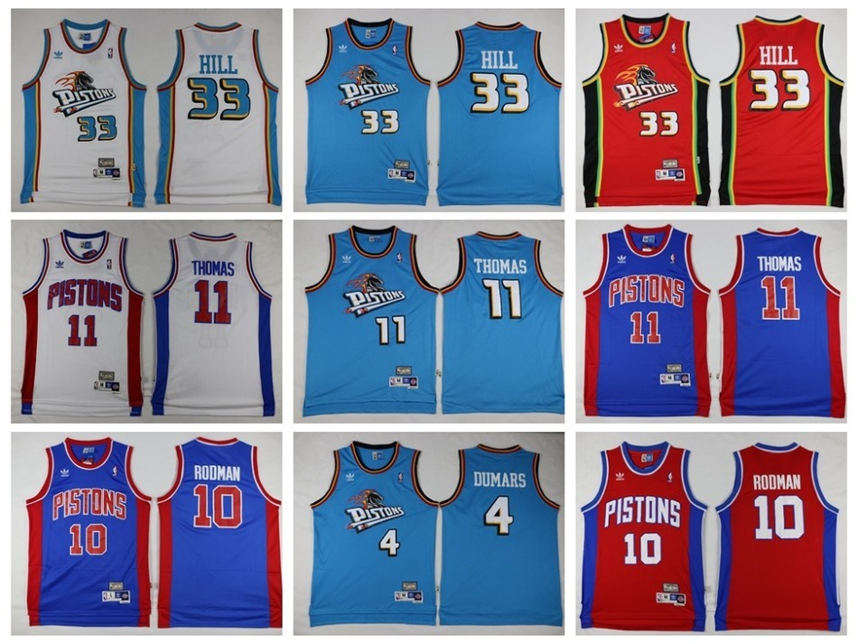 2016 Detroit /S,high quality,Dennis Rodman,Isiah Thomas,Grant Hill,Joe Dumars,Andre Drummond,/ Laimbeer camouflage(China (Mainland))