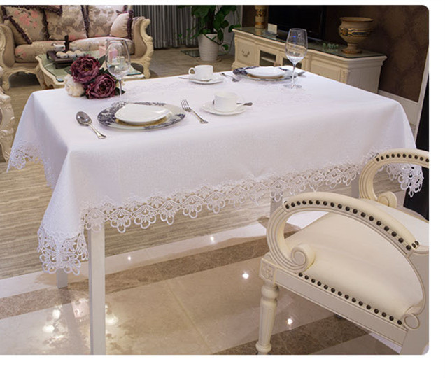Special Offer Knitted Home Outdoor Hotel Towel New Fashion Embroidered Tablecloth Cutout Table Cover Cloth Free Shipping(China (Mainland))