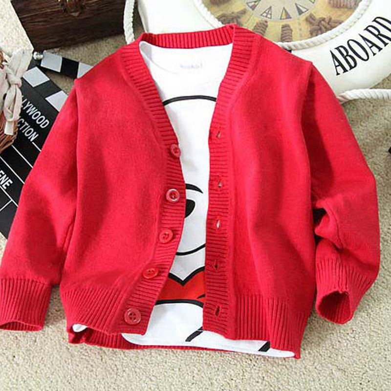 Uniform School Kids Cardigan for Girls&Boys Brand Children Sweater long sleeve Outerwear Coat Girl/Boy Jackets Schoolwear Free S(China (Mainland))