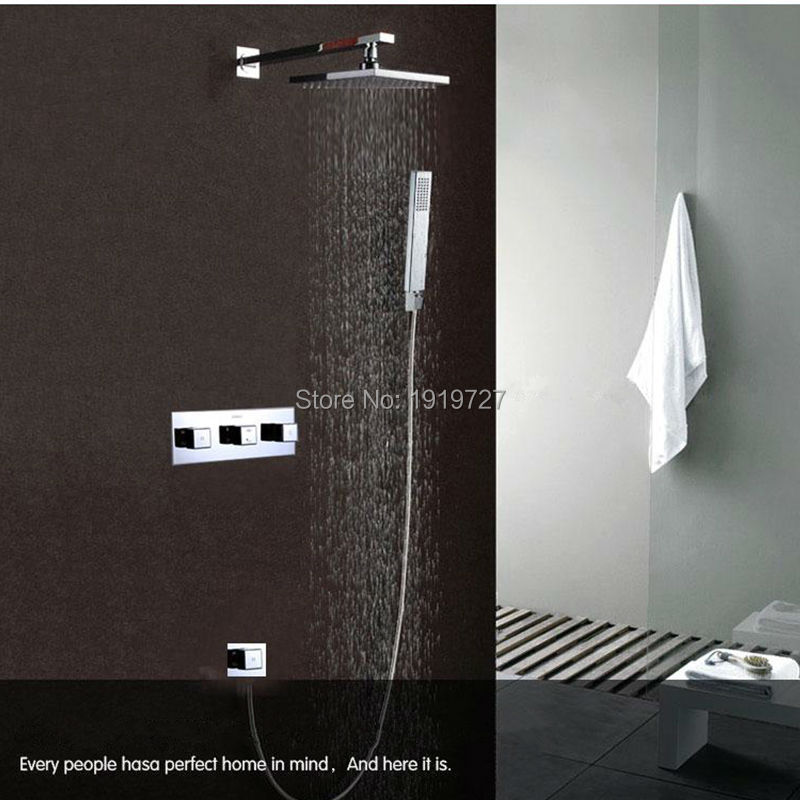 10 Inch Rainfall Shower Head And Waterfall 2 Water Functions Work ...