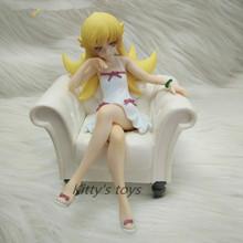Nisemonogatari Oshino Shinobu Action Figure 1/8 scale painted figure Sofa Ver. Oshino Shinobu Doll PVC ACGN figure Toy Anime