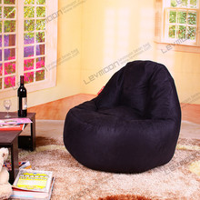 FREE SHIPPING small bean bags the bean bag 100CM diameter cool green bean bags for kids SUEDE bean bag covers only(China (Mainland))