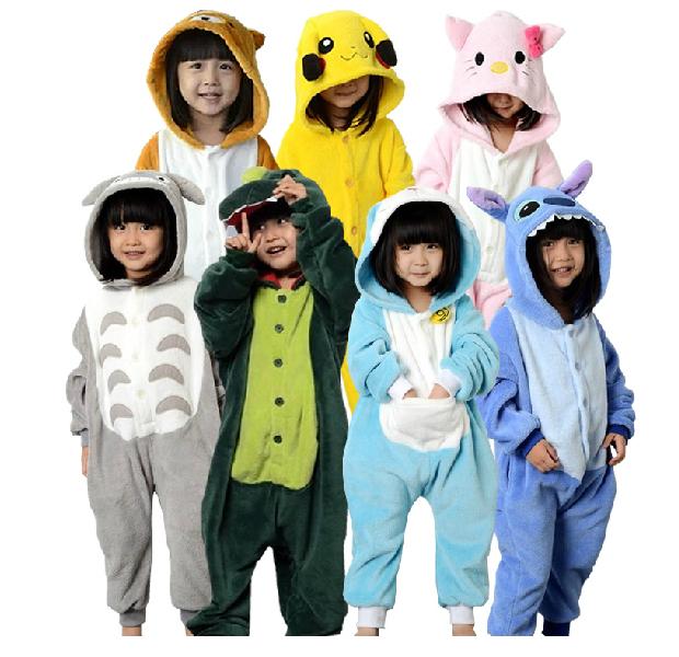 Children blanket sleeper cartoon winter toilet pajamas spring and autumn Kids nightgown dinosaur cat leisurewear flannel bodsuit<br><br>Aliexpress