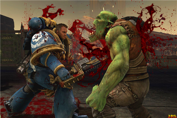 Free shipping 40000 game wallpapers space marine orcs for Decor 40k
