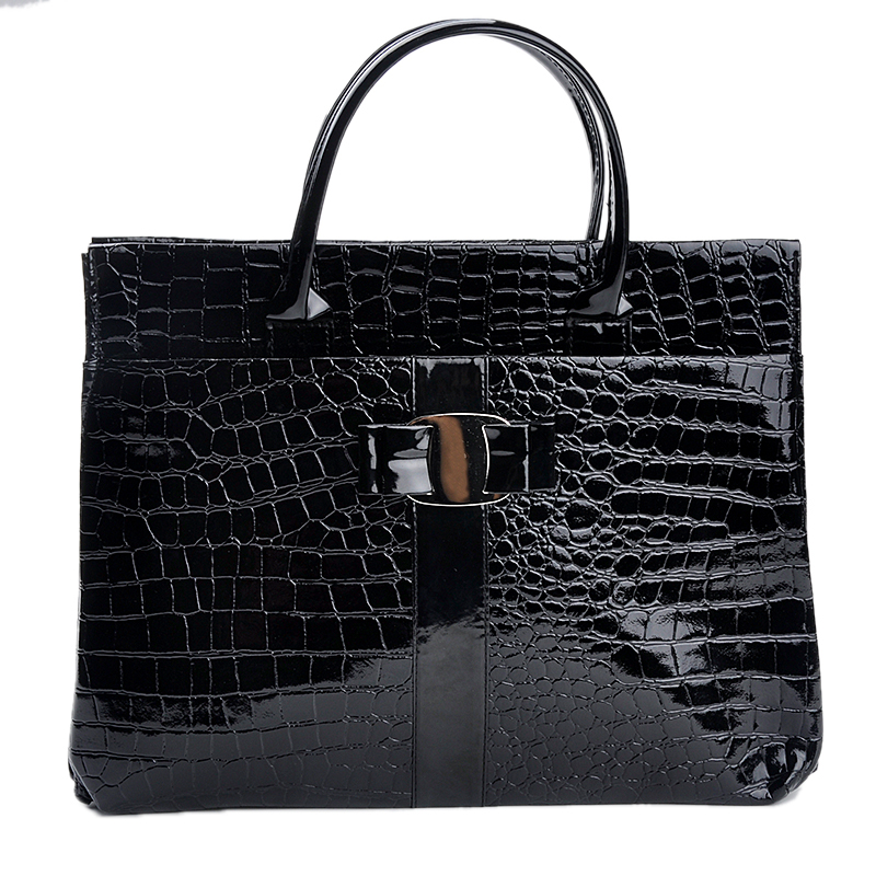 New 2015 Fashion Women messenger bags Elegant Lady Crocodile Pattern Hobo Tote leather handbags bolsa feminina Brand New B271(China (Mainland))