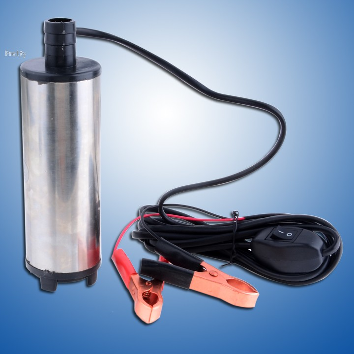 New Arrival New 12V DC Fuel Water Oil Car Camping Submersible Diesel Transfer Pump #11(China (Mainland))