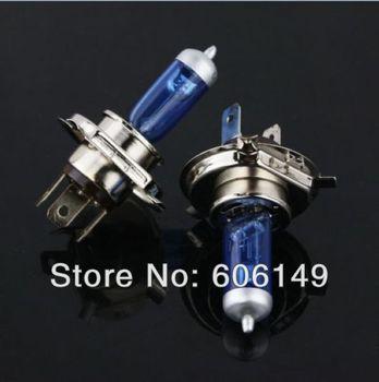 Free shipping H4  HALOGEN HEADLIGHT LIGHT BULB LAMP SUPER WHITE 12V 55W High quality  New Low price 500pcs