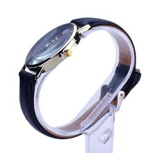 New Design Women watches Lunar Eclipse Pattern PU Leather band clock Analog Quartz Wrist Watch relogios