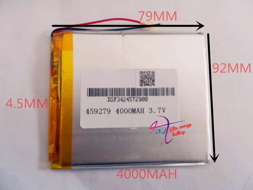 best battery brand 3.7V lithium polymer battery 458097 handheld computer tablet computer game machine 4000MAH PSP(China (Mainland))