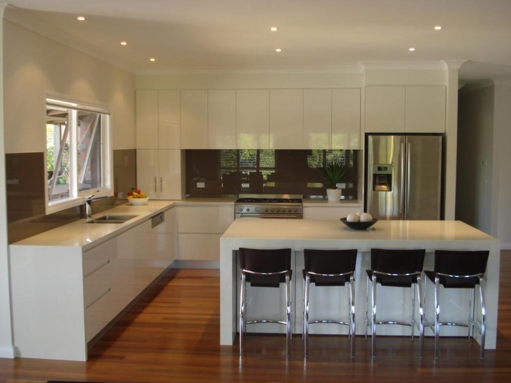 Australia 2pac kitchen cabinet both sides painting(China (Mainland))