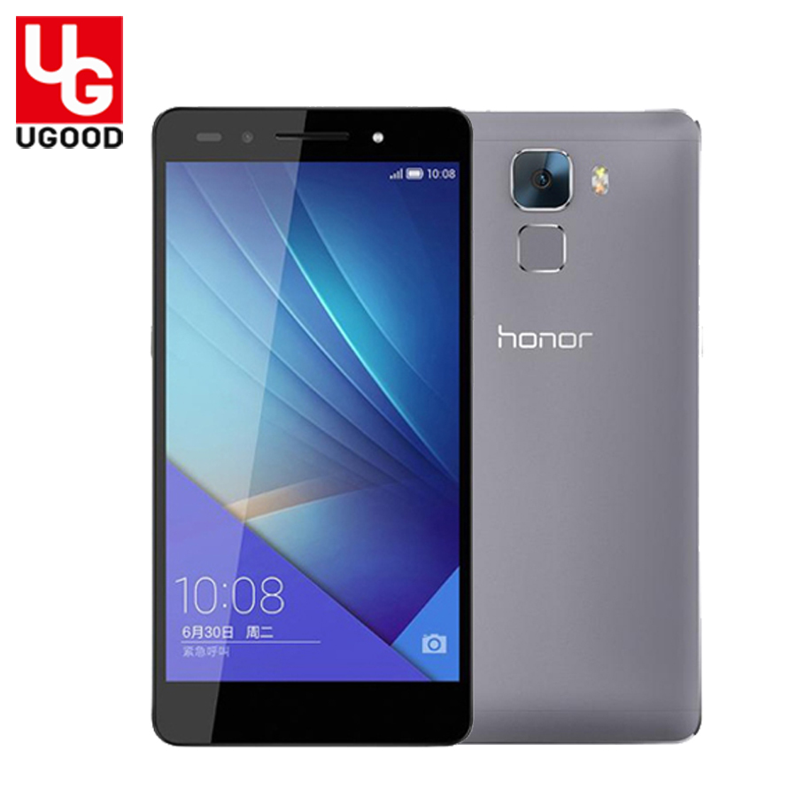 Original Huawei Honor 7 4G LTE Mobile Phone Octa Core Android 5.0 3GB RAM Full Metal 5.2'' 1920X1080P 20.0MP Camera GPS Dual SIM(China (Mainland))