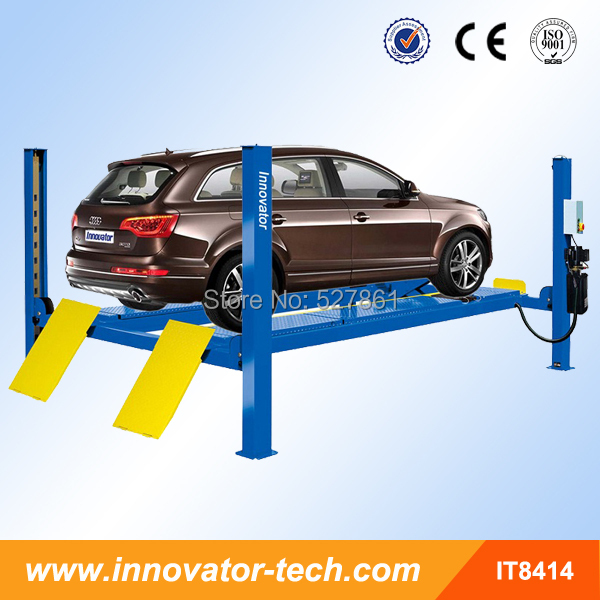 Wheel alignment 4 post car hoist with CE IT8414(China (Mainland))