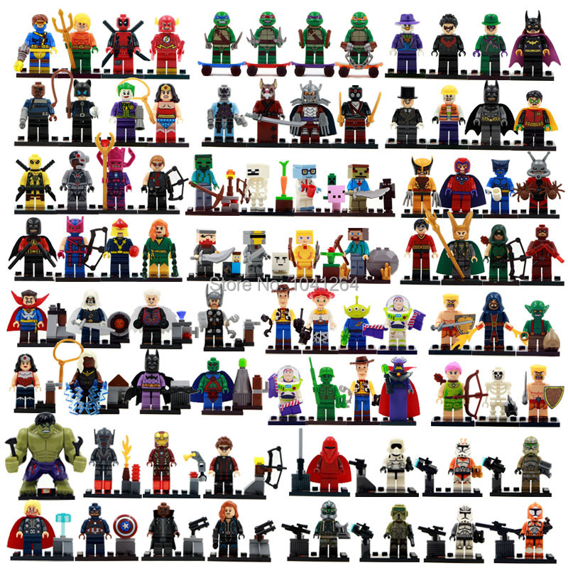(IN STOCK) SHENYUAN ALL SERIES Minifigures super hero star wars anime&cartoon toys figures Building Blocks Best Children Gift(China (Mainland))
