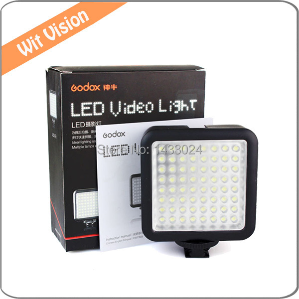 Godox LED64 Video Light for Macro photography LED Video Shooting Light<br><br>Aliexpress