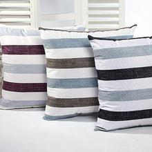 Stripe Pillow Case Sofa Bed Home Decor Cushion Cover