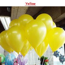 50 шт./лот День Рождения шар вечерние латекс свадебное оформление шарами поставляет 10-дюймовый 1,5 г Надувной Воздушный баллон пользу детей иг...(China)