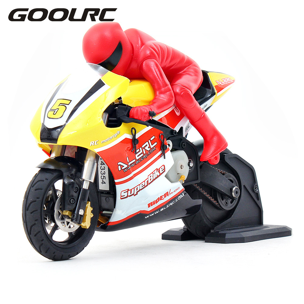 Original RIDER R-100 RTR 1/10 Brushed RC Motorcycle with 2.4G 2CH Transmitter for gift(China (Mainland))