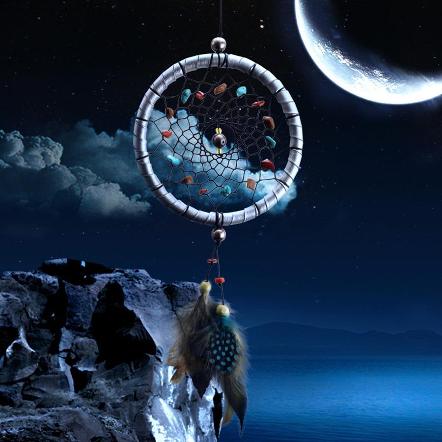 New arrive vintage enchanted forest dreamcatcher handmade dream