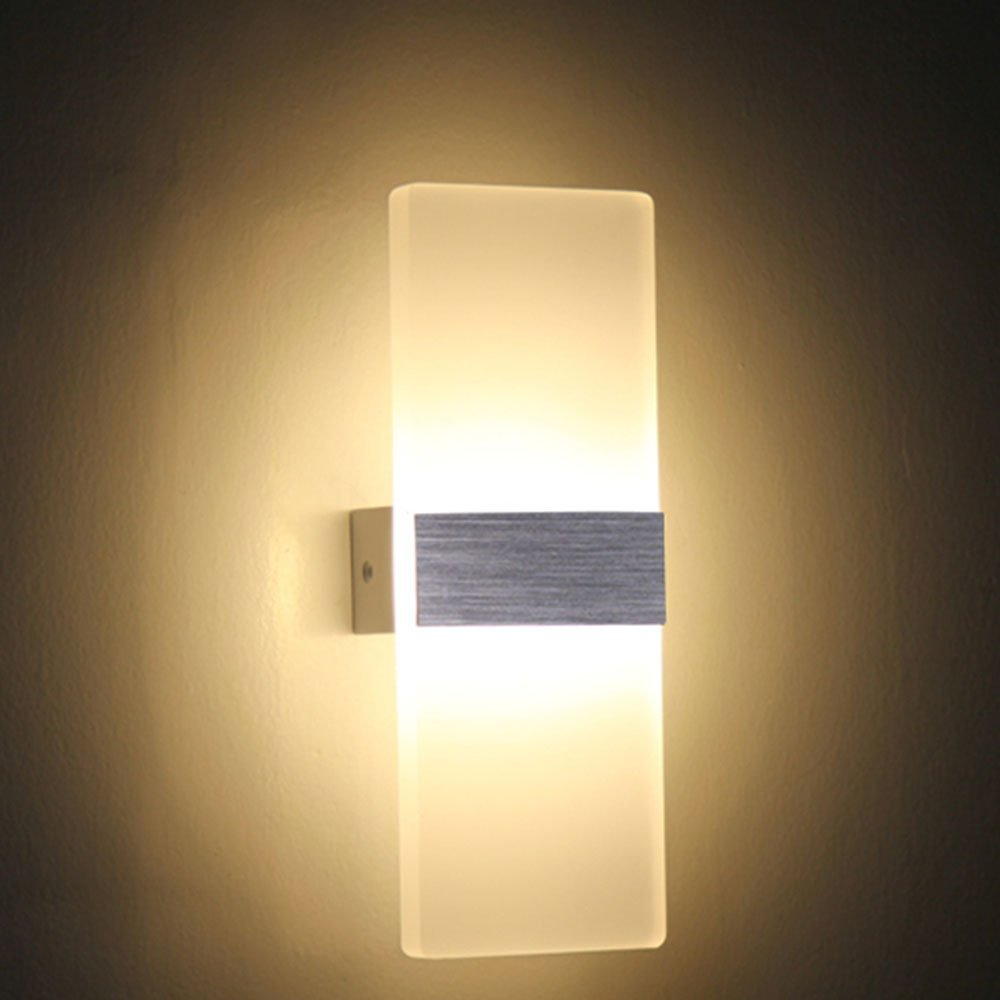 12w led wall light up