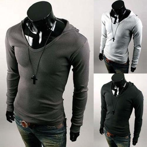 Мужская толстовка Men brand Slim Fit v/# A4235 Pullover Hoodies мужская толстовка men brand slim fit v a4235 pullover hoodies