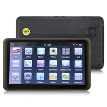 """Quanmin 7 """"inch Hand-held car gps navigation with 720P HD car dvr AV-IN FM 4GB free map(China (Mainland))"""