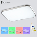 Hot Selling Multicolor Remote LED Ceiling Light Color Changing Smart LED Lamp Shade Modern Ceiling Lamp