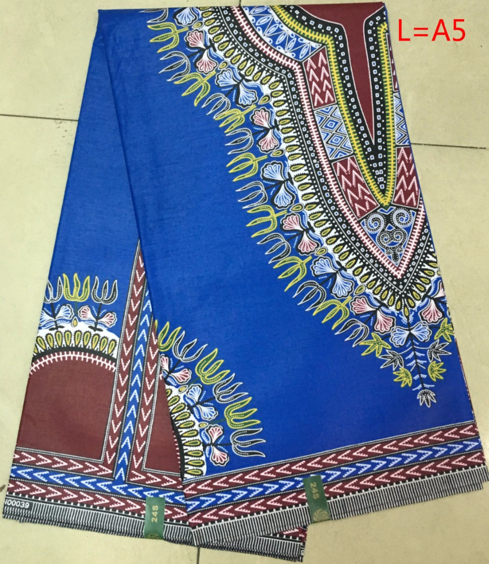 Item no l a5 new design hot sale blue with red african wax for Sewing fabric for sale