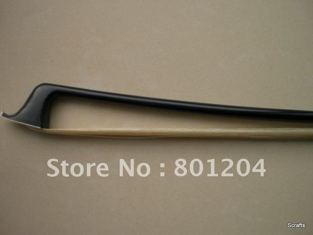 Cello bow with carbon fiber bow stick without gribs Nickel copper mounted